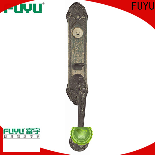 FUYU high security 3 lever lock with latch for mall