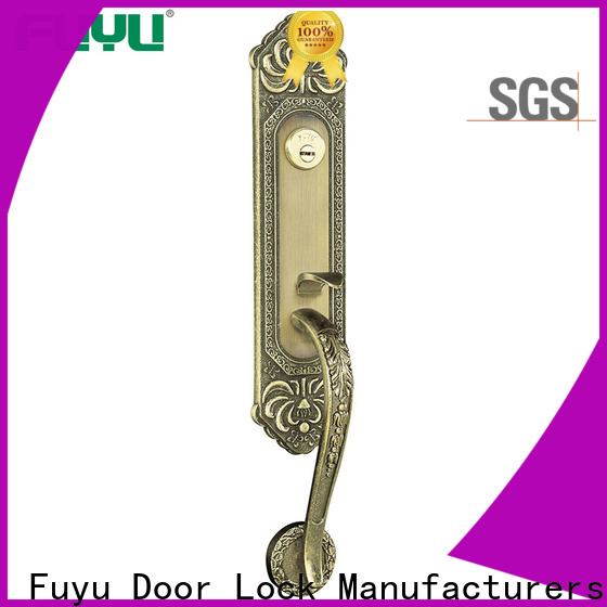 FUYU high security security door locks for homes with latch for entry door