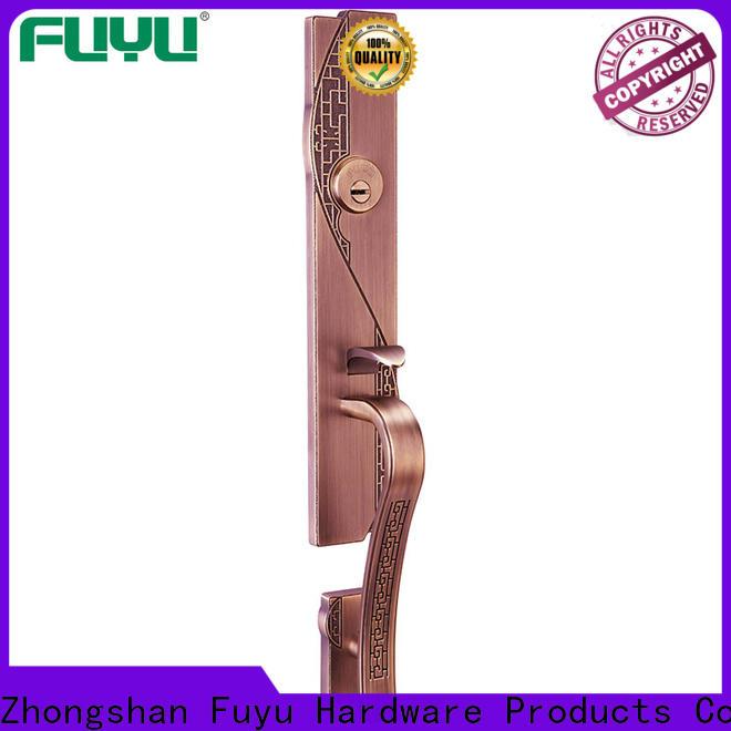 durable zinc alloy door lock for metal door quantity with latch for indoor