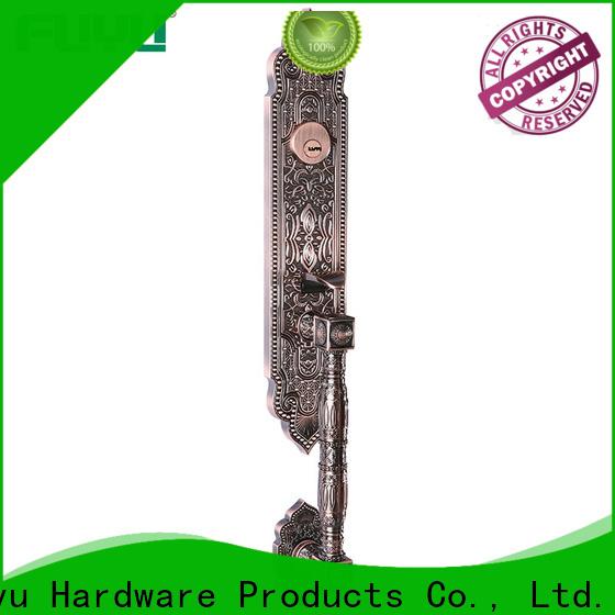 FUYU durable zinc alloy handle door lock meet your demands for shop