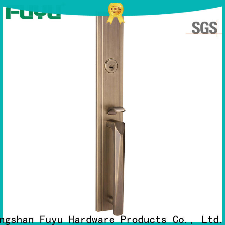 quality door lock design fittings on sale for mall