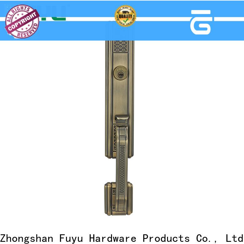 FUYU color simple door lock meet your demands for shop