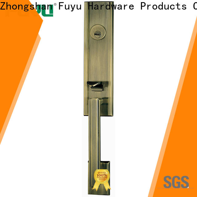 FUYU zinc zinc alloy door lock wholesale on sale for entry door