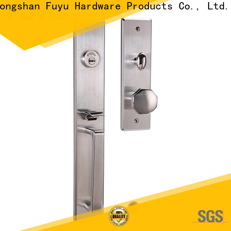 FUYU security stainless steel mortice lock extremely security for residential