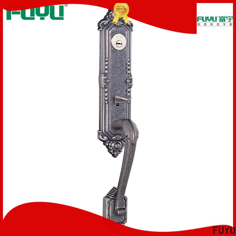 quality zinc alloy door lock for wood door grip on sale for indoor