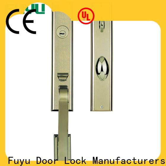 FUYU front zinc alloy mortise handle door lock on sale for entry door