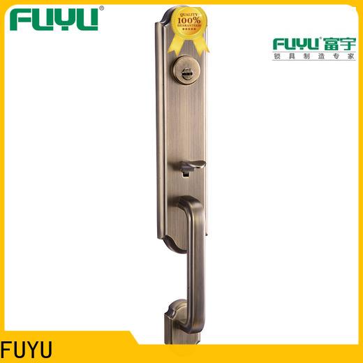 FUYU die zinc alloy door lock for wood door meet your demands for indoor
