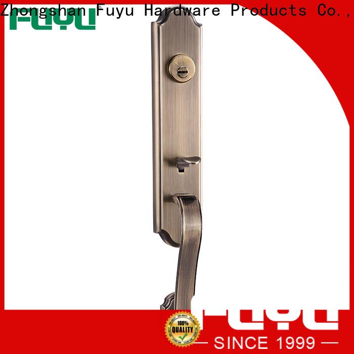 FUYU multipoint zinc alloy door lock for timber door meet your demands for shop