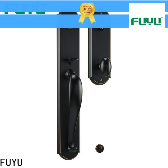 FUYU made customized zinc alloy door lock with latch for indoor