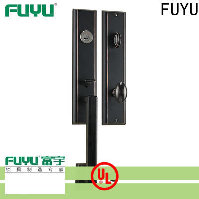 FUYU luxury zinc alloy door lock for wooden door meet your demands for entry door