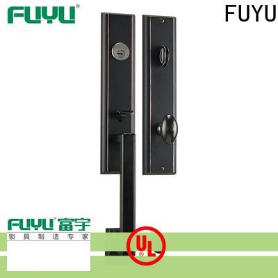 FUYU luxury zinc alloy door lock for wooden door meet your demands for entry door