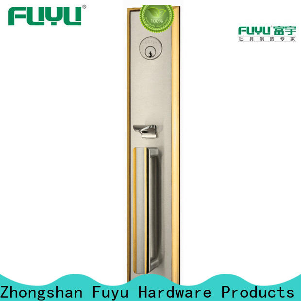 FUYU luxury 3 lever lock meet your demands for mall