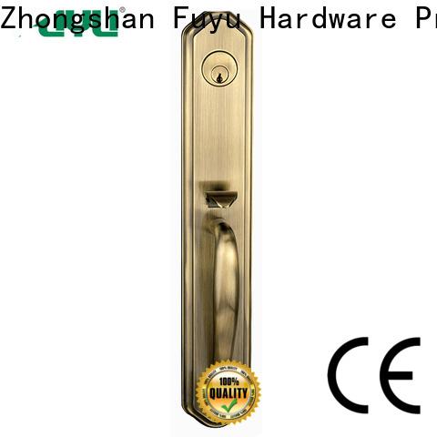 FUYU quality zinc alloy door lock for timber door on sale for shop