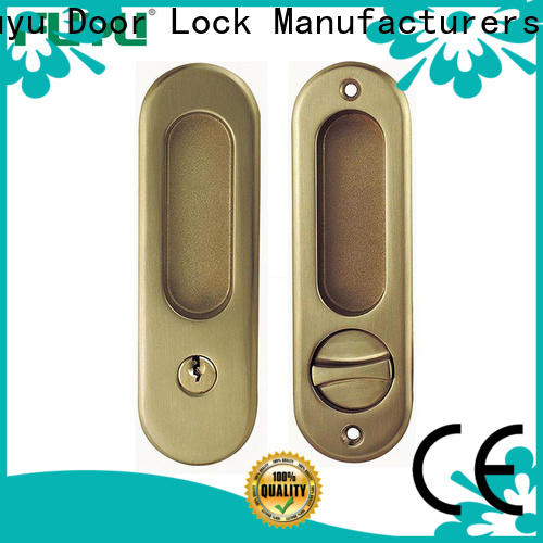 FUYU door lock for sliding door manufacturer for home