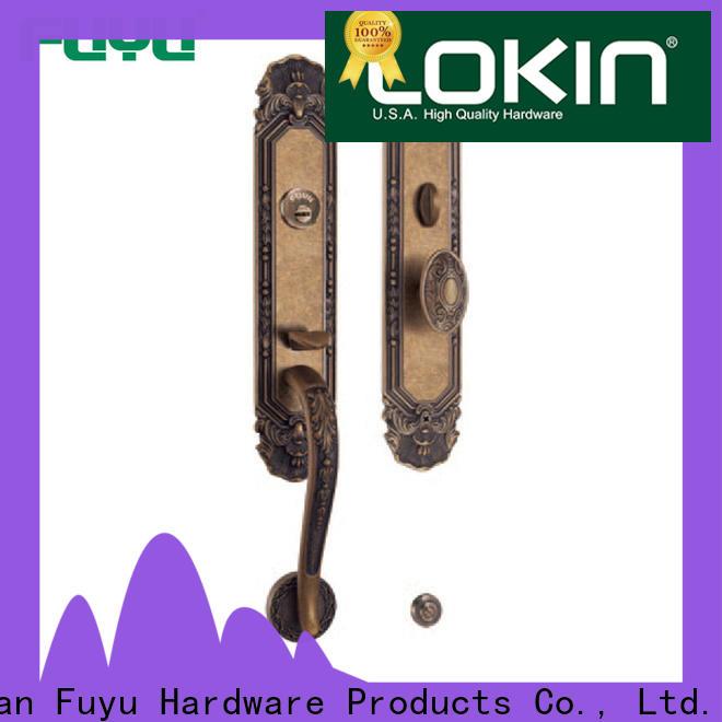 FUYU high security best door locks manufacturer for mall
