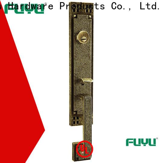 FUYU quality grip handle door lock for sale for wooden door