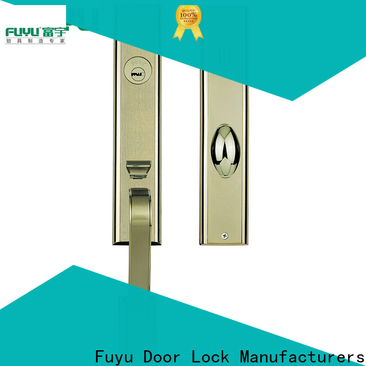 FUYU best multipoint lock manufacturer for entry door