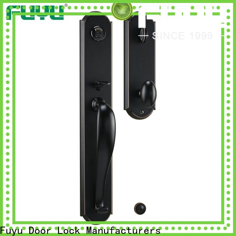 high security grip handle door lock manufacturer for entry door