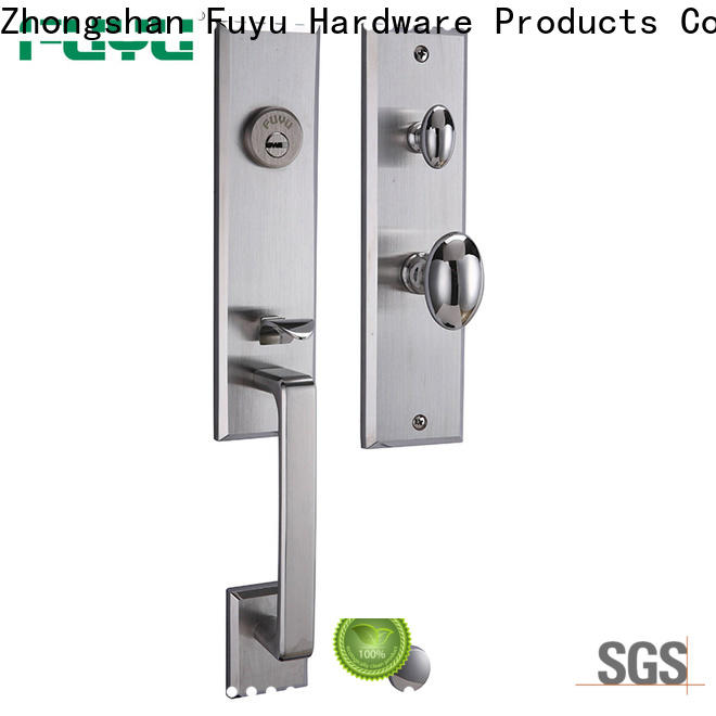 FUYU oem handle door lock for sale for entry door
