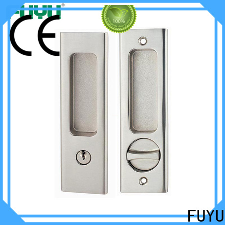 FUYU quality zinc alloy mortise handle door lock meet your demands for indoor