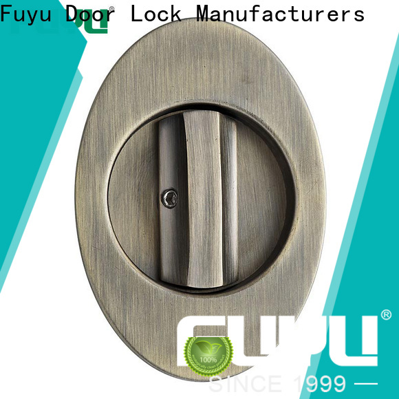 FUYU dubai zinc alloy mortise handle door lock with latch for mall