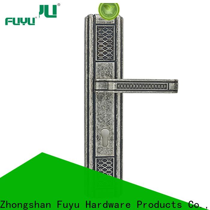 FUYU oem american style zinc alloy door lock meet your demands for entry door