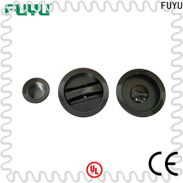 FUYU sliding door lock hardware manufacturer for wooden door