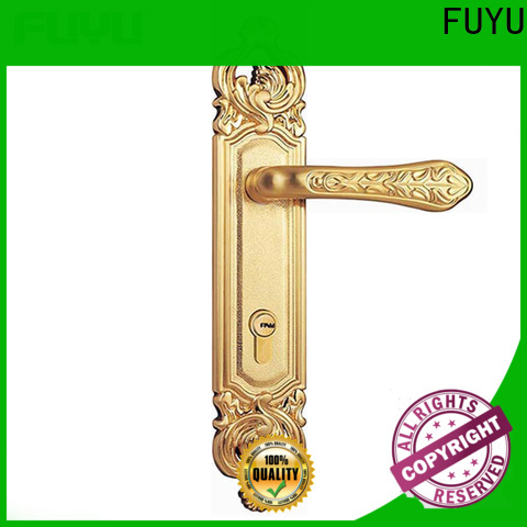 FUYU mortise entry lock set with international standard for mall