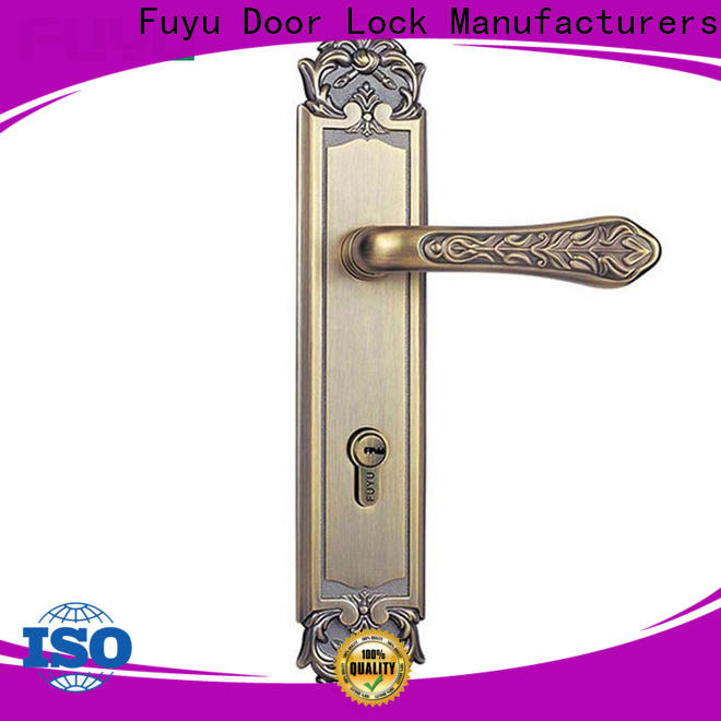 FUYU high security mortise door lock set with international standard for home