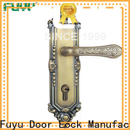 FUYU design bathroom door handle with lock on sale for shop