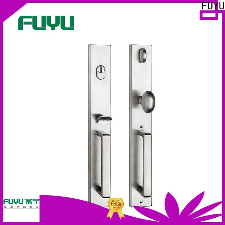 FUYU high security grip handle door lock supplier for entry door