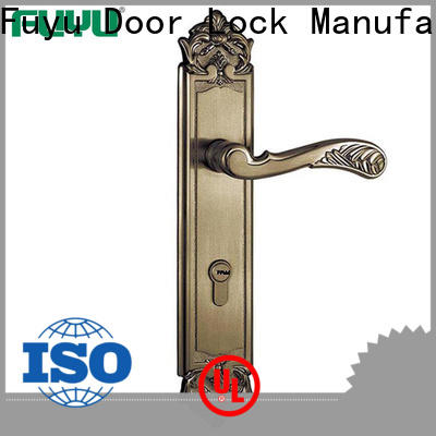 FUYU front door lock design meet your demands for mall