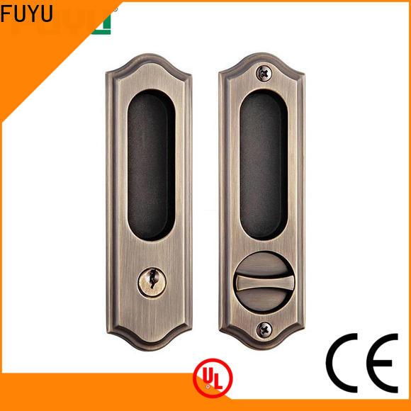 FUYU wood zinc alloy door lock for wood door on sale for shop