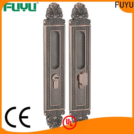 FUYU exterior slide door lock for sale for entry door