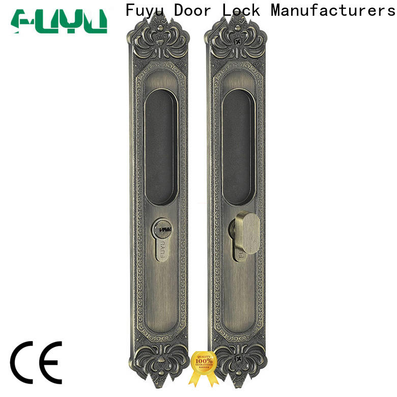 FUYU sliding door security lock for sale for shop