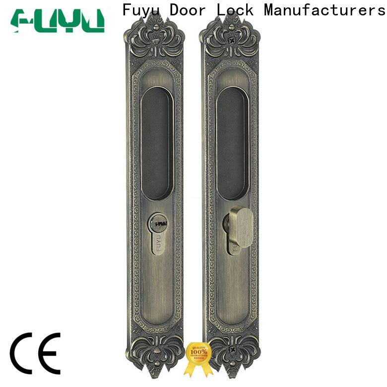 FUYU sliding door security lock for sale for shop