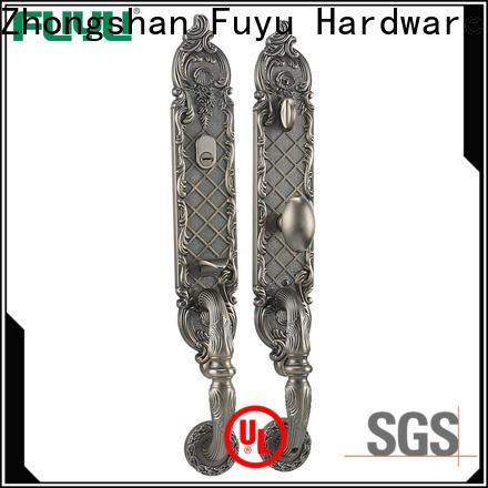 FUYU online zinc alloy handle door lock on sale for mall