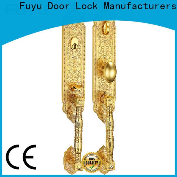 FUYU mortise zinc alloy villa door lock meet your demands for entry door