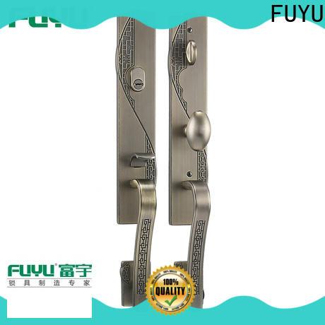 FUYU durable zinc alloy door lock for timber door on sale for entry door