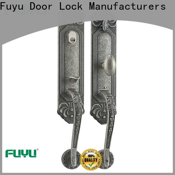 FUYU online simple door lock with latch for mall
