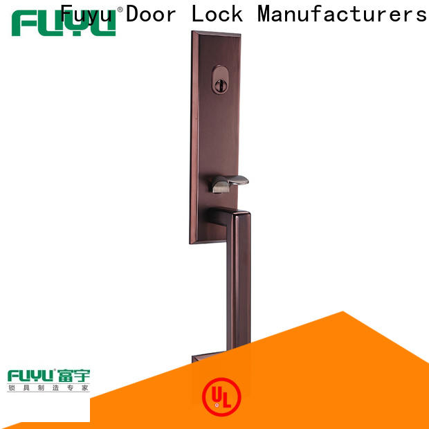 FUYU cylinder 5 lever mortice with latch for indoor