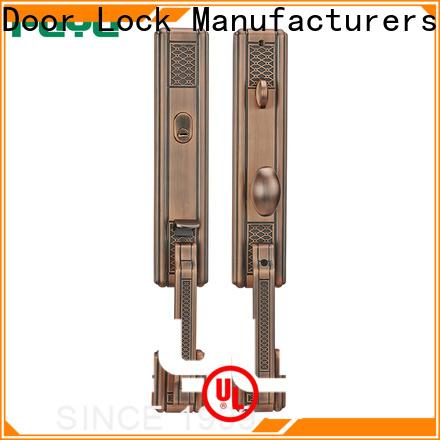 FUYU oem zinc alloy mortise door lock with latch for indoor