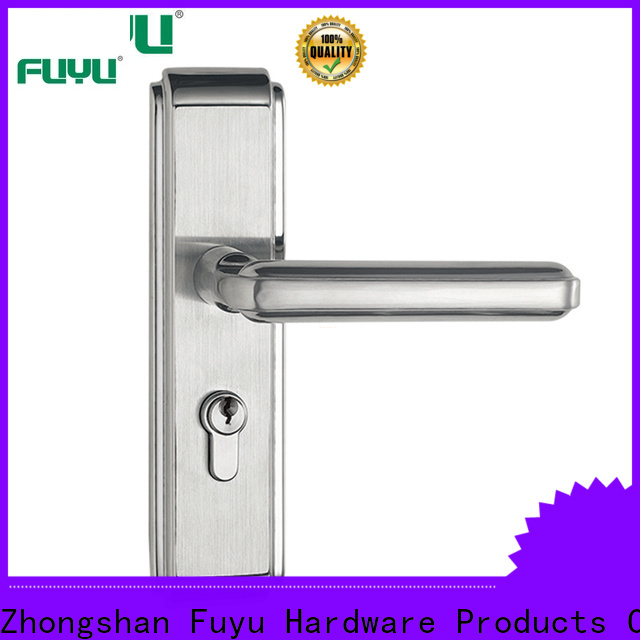 FUYU mortise office door lock with international standard for residential