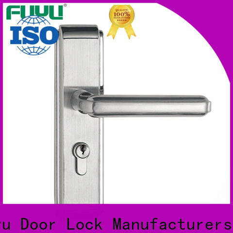 FUYU oem mortise entry lock set extremely security for entry door