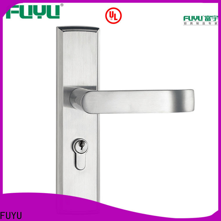 electric stainless steel handle door locks locks extremely security for home