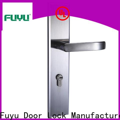 FUYU security door lock stainless steel on sale for wooden door