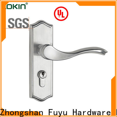 FUYU entry door mortise lock set with international standard for residential