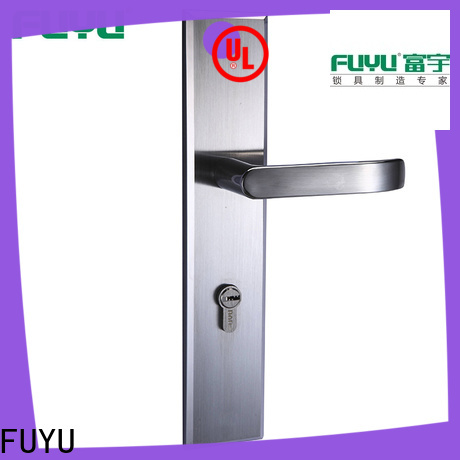FUYU custom mortise lock handle extremely security for mall