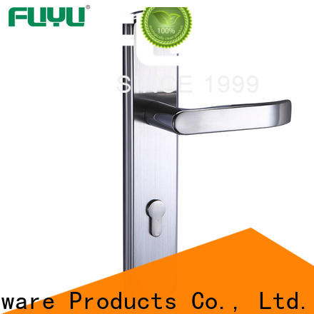 FUYU panel lever handle door lock extremely security for entry door