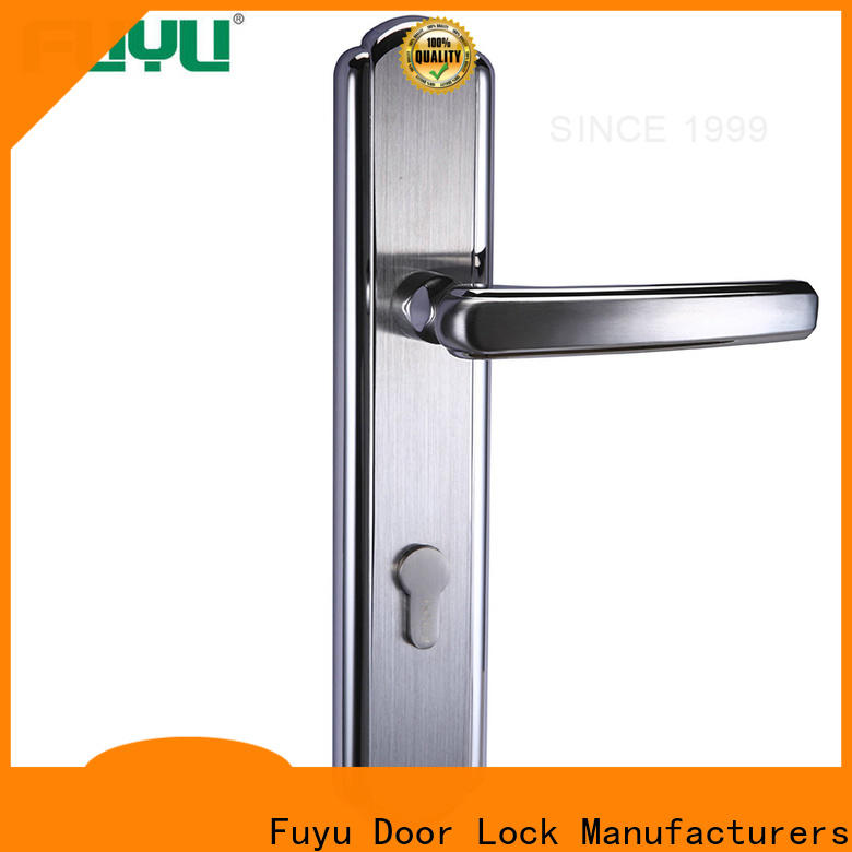FUYU ss aluminium door lock extremely security for shop